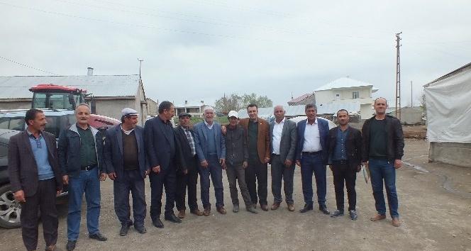 Başkan Kılıçın köy ziyaretleri devam ediyor