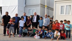 """Tümer: Sığınmacıların huzurlu bir ortamda dönmelerini umut ediyoruz"""""""