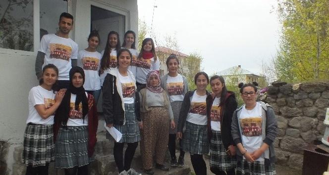 Öğrencilerden yaşlılara destek eli
