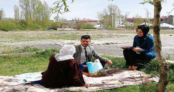 İpekyolu Belediyesinden vefa, merhamet ve sevgi ziyaretleri
