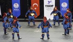 Halk oyunları yarışmasında Muğlaya 3 birincilik