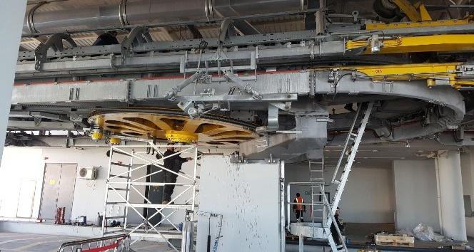 Yenimahalle-Şentepe arasındaki teleferik hattı ağır bakım ve onarımdan geçirildi