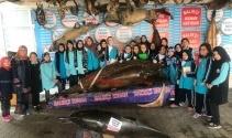 Öğrenciler 'Çocuk Bayramı'nı balık müzesinde kutladı