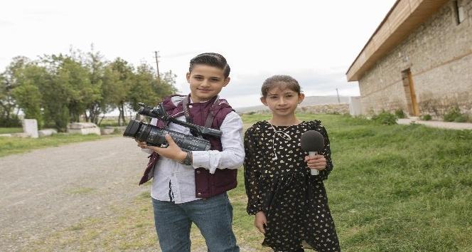 Çocuklar 23 Nisan Ulusal Egemenlik ve Çocuk Bayramında haberci oldu
