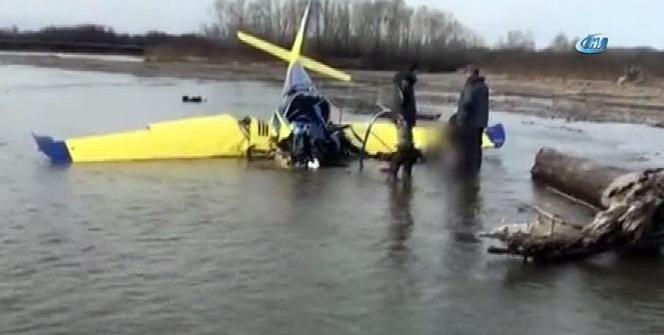 Rusya'da uçak göle çakıldı: 2 ölü