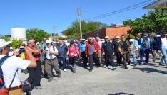 Didimde Geleneksel Kutsal yol yürüyüşü düzenlendi