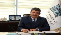 """Rektör Sadeden  """"23 Nisan"""" mesajı"""