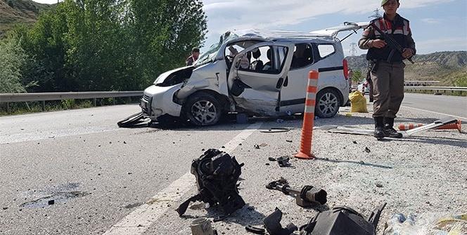 Kastamonu feci kaza: 1 ölü, 4 yaralı