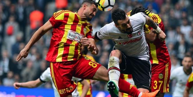 Beşiktaş Yeni Malatyaspor Maçından Kareler