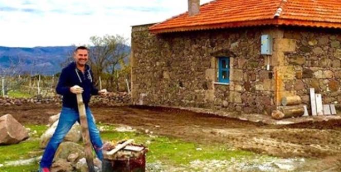 Her şeyi sattı, köy hayatına döndü!