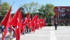 Vilayet meydanında 23 Nisan töreni gerçekleşti