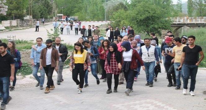 Uşak Üniversitesi öğrencileri Eskigedize hayran kaldı