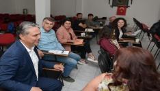 Başkan Uysal, Öykü Atölyesinde yazarlık serüvenini paylaştı