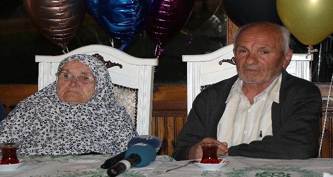 77lik dededen eşine 60. yıl evlilik yıl dönümü sürprizi