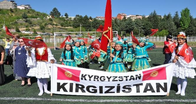 Simavda Kırgızistan rüzgarı esti