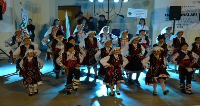 Bigada Uluslararası Troya Çocuk Halk Dansları Festivali