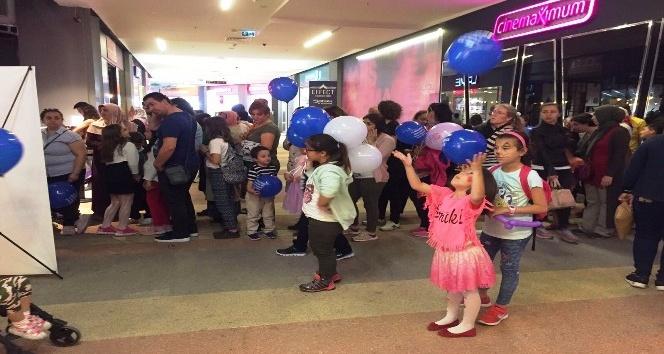 Çocuklar sinemada GESTAŞın misafiri oldu