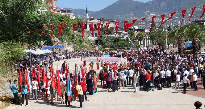 Alanyada 23 Nisana özel festival