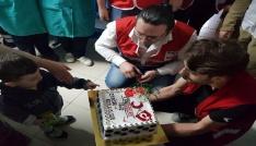 Hastanede 23 Nisan Kutladılar