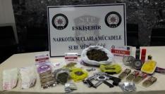 Eskişehirde uyuşturucu operasyonu: 10 gözaltı