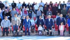 Lapsekide 1. Uluslararası Troya Çocuk Halk Dansları Festivali yapıldı