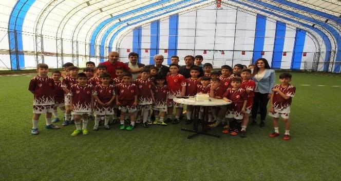 Elazığspor Futbol Okulu açıldı