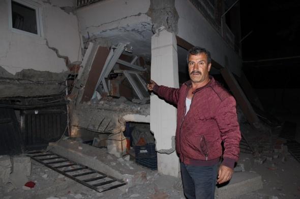 Samsat'ta depremin bilançosu gün yüzüne çıkıyor