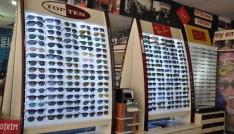 Karsta sahte güneş gözlüğüne karşı vatandaşlar uyarıldı