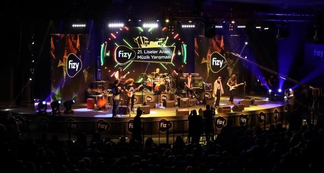 fizy 21. Liseler Arası Müzik Yarışması'nda final heyecanı yaklaşıyor