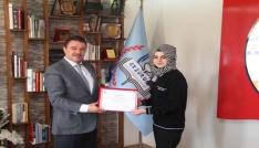 TÜBİTAK Türkiye ikincisi öğrencilerinden Yıldıza ziyaret
