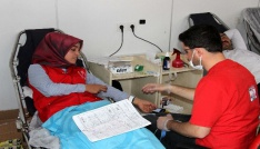 Hizanda kan bağışı kampanyası