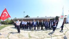 Sultangazinin izcileri Çanakkale Milli Bilinç Kampında