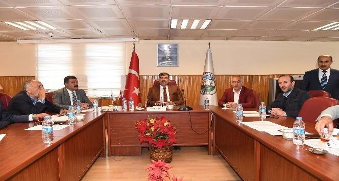 Muşta Katı Atık Belediyeler Birliği toplantısı