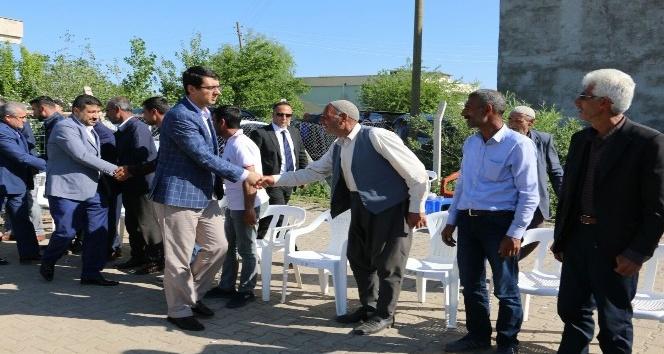 Başkan Kartaldan taziye ziyareti