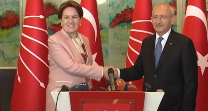 Kılıçdaroğlu ve Akşenerden görüşme sonrası açıklama