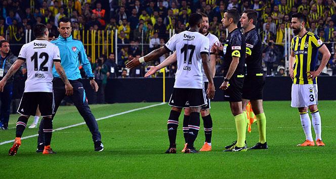Olaylı derbide Beşiktaştan flaş karar