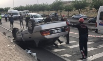 Şanlıurfada otomobil devrildi: 7 yaralı