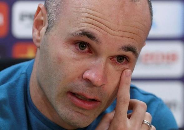 Andres Iniesta'dan duygusal veda