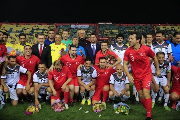Türkiye ile Irak arasında dostluk maçı