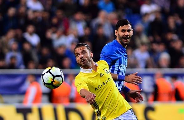 Kasımpaşa Fenerbahçe maçından kareler