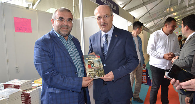 Başkan Kafaoğlundan gençlere kitap okuma çağrısı