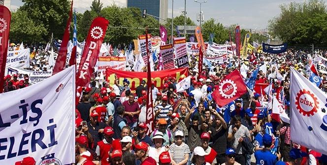 Başkent'te 1 Mayıs kutlamaları için yoğun güvenlik önlemleri alındı
