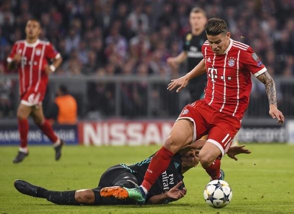 Real Madrid Bayern Münih özet izleme ekranı