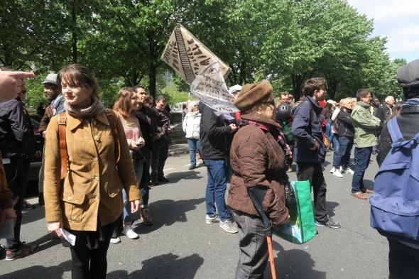 Fransa'da 1 Mayıs gösterileri