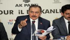 Bakan Eroğlu: Bu CHPden hayır gelmez