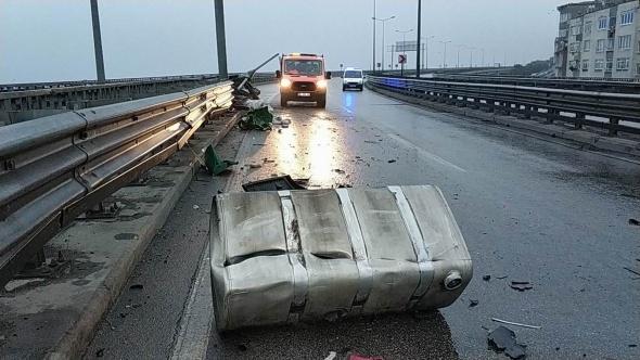 Samsun'da zincirleme kaza! 12 araç birden