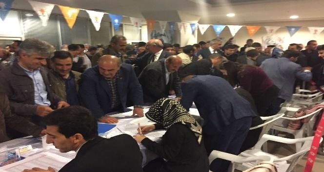 AK Parti Erzurum milletvekili aday adayları için temayül yoklaması yaptı