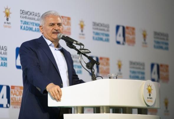 Başbakan Yıldırım: 'AK Parti en sağlam çatıyla seçime gidiyor'