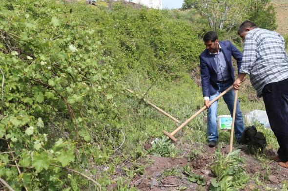 Toplanması yasak olan 6 kilo salep soğanına 48 bin 625 lira ceza