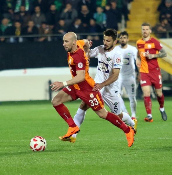 Akhisarspor Galatasaray Maçından Kareler